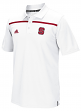 North Carolina State Wolfpack Adidas 2015 Sideline Climalite Coaches White Polo