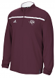 Texas A&M Aggies Adidas 2015 Sideline Climalite Long Sleeve 1/4 Zip Shirt