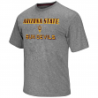 "Arizona State Sun Devils NCAA ""Arena"" Men's Performance Shirt - Charcoal"