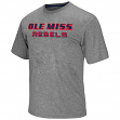 "Mississippi Ole Miss Rebels NCAA ""Arena"" Men's Performance Shirt - Charcoal"