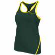 "Oregon Ducks Women's NCAA ""Rapid"" Performance Racer Back Tank Top"