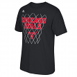 "Chicago Bulls Adidas NBA ""Net Up"" Men's Short Sleeve T-Shirt"