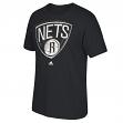 "Brooklyn Nets Adidas NBA ""Gamer"" Premium Print Short Sleeve Men's T-Shirt"