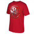 "Houston Rockets Adidas NBA ""Horizons"" Premium Print S/S Men's T-Shirt"