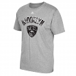 "Brooklyn Nets Adidas NBA ""Energy Wordmark"" Men's Short Sleeve T-Shirt"