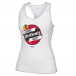 "Chicago Blackhawks Women's CCM ""Labeled"" NHL Stripe Racer Tank Top Shirt"