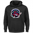 "Toronto Raptors Majestic NBA ""Felt Tek Patch"" Hooded Sweatshirt"