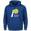 "Indiana Pacers Majestic NBA ""Felt Tek Patch"" Hooded Sweatshirt"