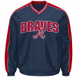 "Atlanta Braves MLB G-III ""Switch"" Pullover Embroidered Jacket"