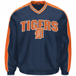 """Detroit Tigers MLB G-III """"Switch"""" Pullover Embroidered Jacket"""