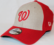 "Washington Nationals New Era MLB 39THIRTY ""Team Fronted Classic"" Fitted Hat"