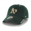 "Oakland Athletics 47 Brand MLB ""Ice Clean Up"" Adjustable Hat - Green"