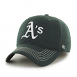 "Oakland Athletics 47 Brand MLB ""Game Time"" Stretch Fit Hat - Green"