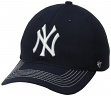 "New York Yankees 47 Brand MLB ""Game Time"" Stretch Fit Hat - Navy"