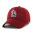 "St. Louis Cardinals 47 Brand MLB ""Game Time"" Stretch Fit Hat - Red"