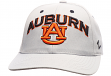 "Auburn Tigers NCAA Zephyr ""Signature Gray"" Structured Adjustable Hat"