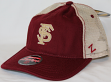 "Florida State Seminoles NCAA Zephyr ""Summertime"" Adjustable Mesh Trucker Hat"