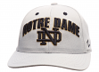 "Notre Dame Fighting Irish NCAA Zephyr ""Signature Gray"" Structured Adjustable Hat"