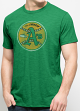 "Oakland Athletics 47 Brand MLB Scrum ""Cooperstown"" Premium Green T-Shirt"