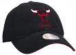 Chicago Bulls Mitchell & Ness NBA Throwback Felt Logo Adjustable Slouch Hat