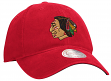 Chicago Blackhawks Mitchell & Ness NHL Retro Felt Logo Adjustable Slouch Hat