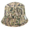 "Michigan Wolverines NCAA Top of the World ""Caravan"" Reversible Bucket Hat"