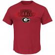 "Georgia Bulldogs Majestic NCAA ""Winner"" Short Sleeve Men's T-Shirt"