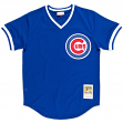 Ryne Sandberg Chicago Cubs Mitchell & Ness Authentic 1984 BP Jersey