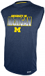 "Michigan Wolverines Majestic NCAA ""Big Jam"" Sleeveless Performance Shirt"