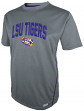 "LSU Tigers Majestic NCAA ""Big Man"" Short Sleeve Performance Shirt"