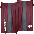 "Texas A&M Aggies Majestic NCAA ""All Day"" Men's Performance Shorts - Maroon"