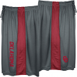 "Oklahoma Sooners Majestic NCAA ""All Day"" Mens' Performance Shorts - Gray"