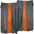 "Oklahoma State Cowboys Majestic NCAA ""All Day"" Mens' Performance Shorts - Gray"
