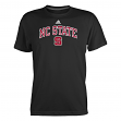 "North Carolina State Wolfpack Adidas NCAA ""Wordmark Logo"" Men's T-Shirt"