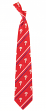 "Philadelphia Phillies MLB ""Cambridge Stripe"" Men's Woven Silk Tie"
