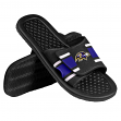 Baltimore Ravens NFL Men's Shower Slide Flip Flop Sandals
