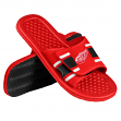 Detroit Red Wings NHL Men's Shower Slide Flip Flop Sandals
