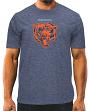 "Chicago Bears Majestic NFL ""Breakaway Speed"" Men's Cool Base T-Shirt"