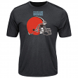 "Cleveland Browns Majestic NFL ""Breakaway Speed"" Men's Cool Base T-Shirt"