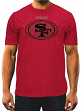 "San Francisco 49ers Majestic NFL ""Breakaway Speed"" Men's Cool Base T-Shirt"
