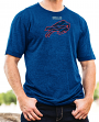 "Buffalo Bills Majestic NFL ""Breakaway Speed"" Men's Cool Base T-Shirt"