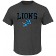 "Detroit Lions Majestic NFL ""Red Zone"" Men's Short Sleeve Premium T-Shirt"