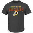 "Washington Redskins Majestic NFL ""Red Zone"" Men's Short Sleeve Premium T-Shirt"
