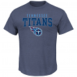 "Tennessee Titans Majestic NFL ""Red Zone"" Men's Short Sleeve Premium T-Shirt"