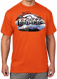 "Denver Broncos Majestic NFL ""Four Man Front"" Men's S/S Premium T-Shirt"