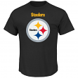 Pittsburgh Steelers Majestic NFL Critical Victory Men's T-Shirt - Black