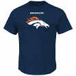 Denver Broncos Majestic NFL Critical Victory Men's T-Shirt - Navy
