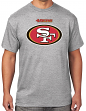 San Francisco 49ers Majestic NFL Critical Victory Men's T-Shirt - Gray
