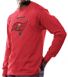 Tampa Bay Buccaneers Majestic NFL Critical Victory Men's Long Sleeve Red T-Shirt