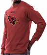 Arizona Cardinals Majestic NFL Critical Victory Men's Long Sleeve Red T-Shirt